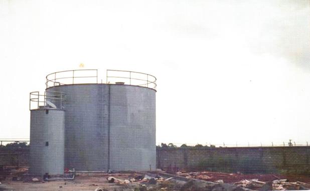 Konstruksi tangki timbun air dan bahan bakar_Fabrikasi baja_PT Inasa Wahana Lestari Jakarta Indonesia 618x382