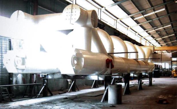 Pontoon Stinger untuk PT Global Industries Asia Pacific Batam_Fabrikasi baja_PT Inasa Wahana Lestari Jakarta Indonesia 618x382